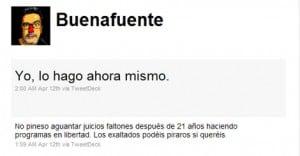 Twitter oficial de Andreu Buenafuente