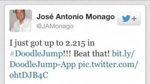 Twitter oficial de José Antonio Monago. Político.