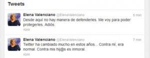 Twitter oficial de Elena Valenciano