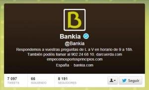 Twitter Bankia Redes Sociales Social Media