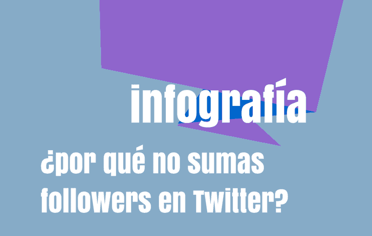 infografia followers en twitter
