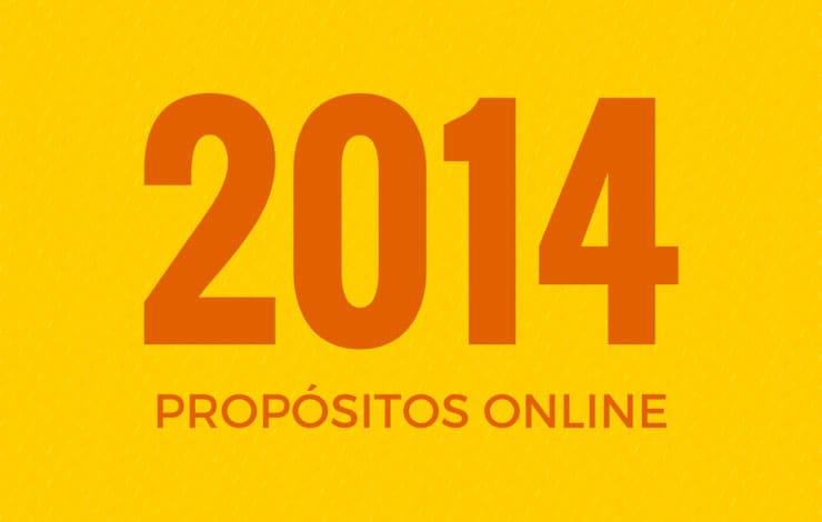 Cinco propósitos online para el nuevo año