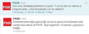 Twitter PSOE