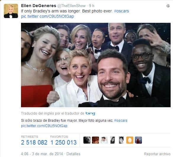 Selfies y redes sociales