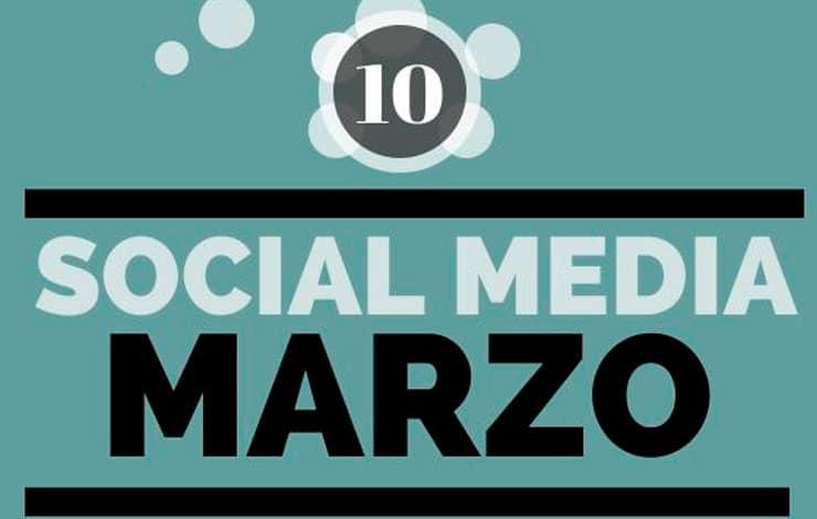 Selección SinTuit: TOP 10 mejores posts de Social Media del mes de marzo