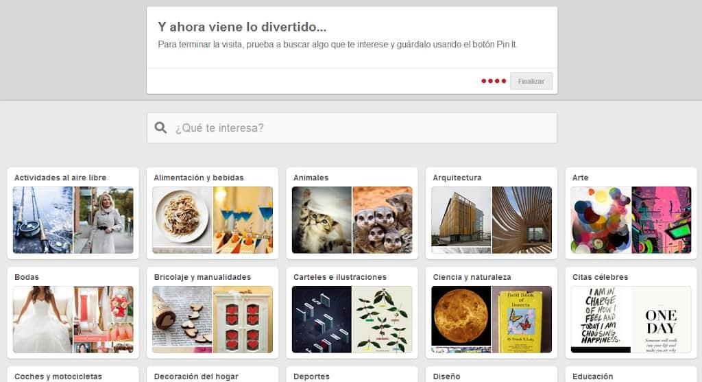 Como crear páginas de empresa en Pinterest