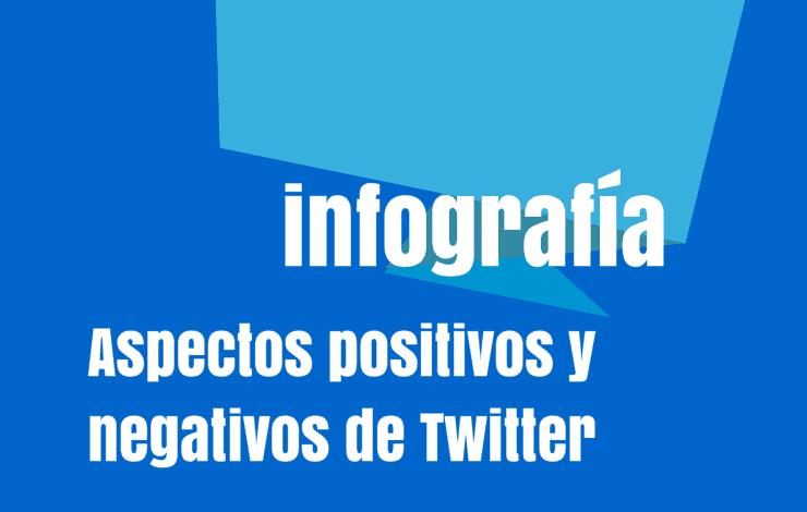 Aspectos positivos y negativos de Twitter