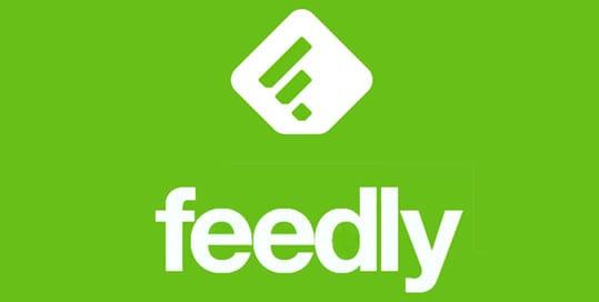 comparte contenidos con Feedly