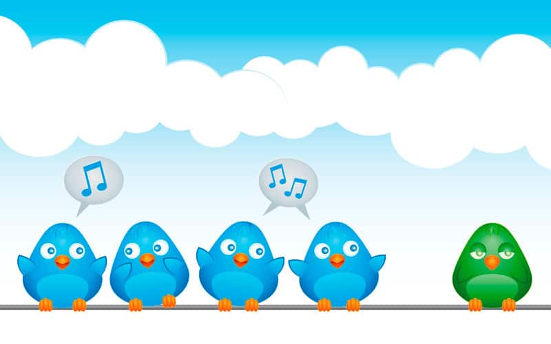 perfiles inactivos en Twitter